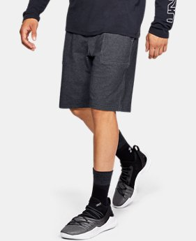 Men's UA Pursuit Fleece Shorts LIMITED TIME: FREE U.S. SHIPPING 3 Colors $50