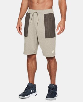 New Arrival Men's UA Pursuit Fleece Shorts  1 Color $50