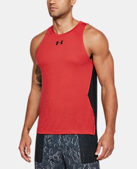 Men's UA Baseline Performance Tank  1  Color Available $30