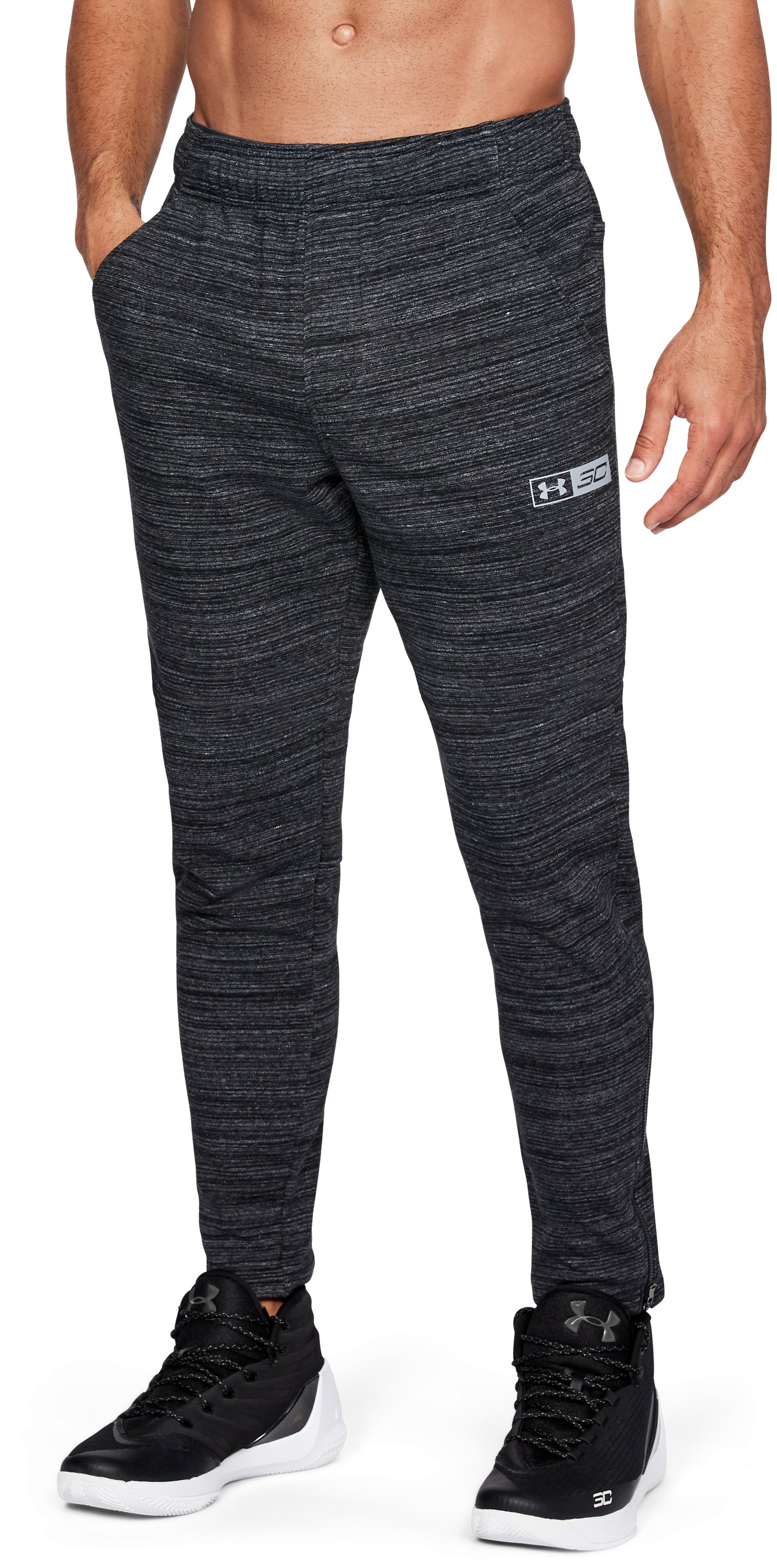 Men's SC30 Warm Up Pants, Black