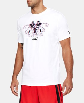New Arrival Men's SC30 3D Dribbler T-Shirt  1 Color $35