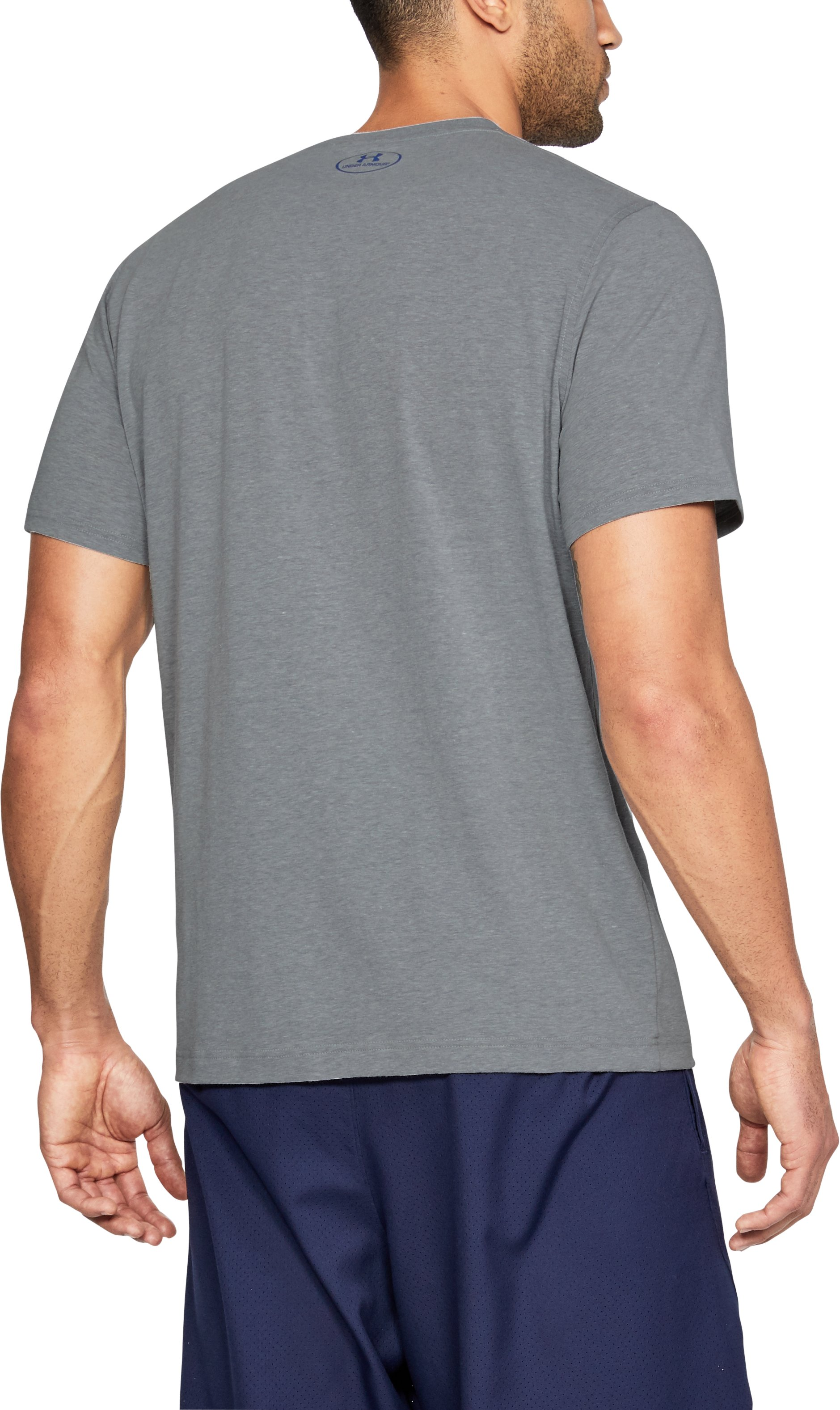 Men's SC30 Unguardable T-Shirt, STEEL LIGHT HEATHER,