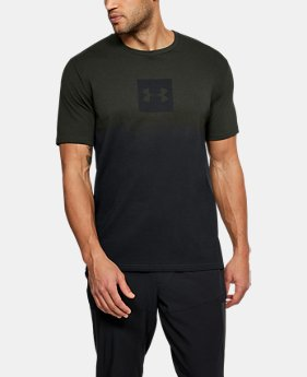 New Arrival Men's UA Sportstyle Gradient Short Sleeve  4 Colors $30