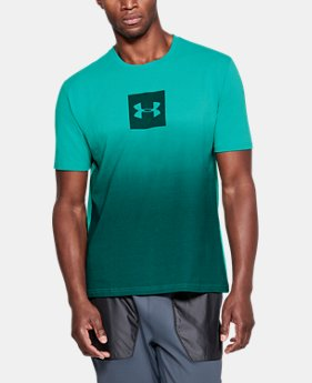 Men's UA Sportstyle Gradient Short Sleeve  1  Color Available $30