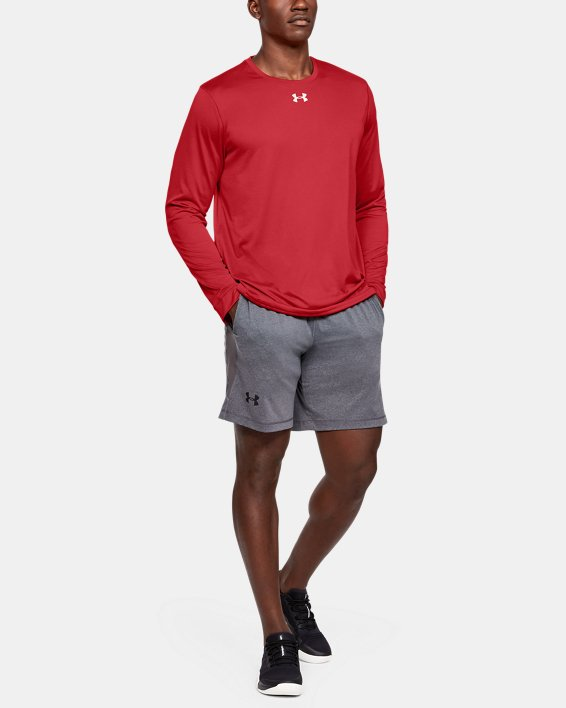 Men's UA Locker 2.0 Long Sleeve, Red, pdpMainDesktop image number 1