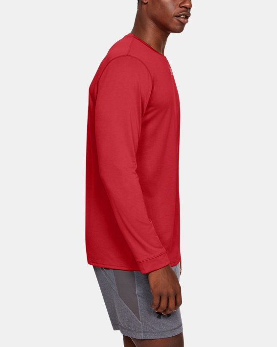 Men's UA Locker 2.0 Long Sleeve, Red, pdpMainDesktop image number 3