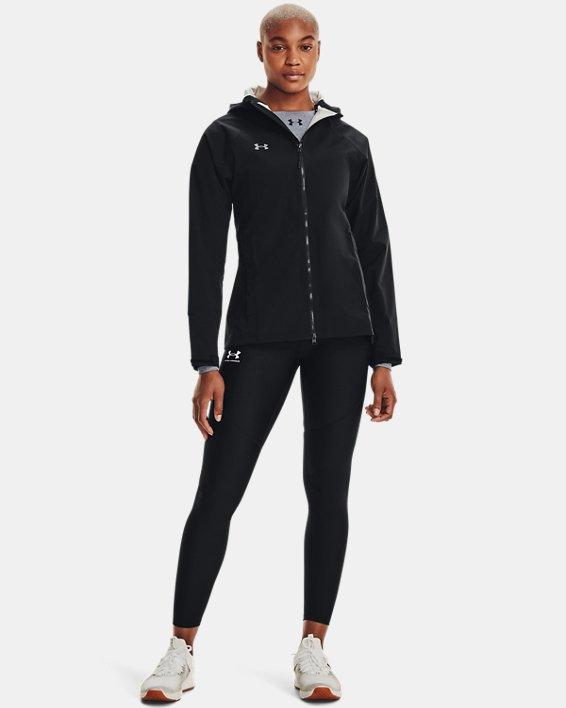 Women's UA Storm Rain Jacket, Black, pdpMainDesktop image number 1