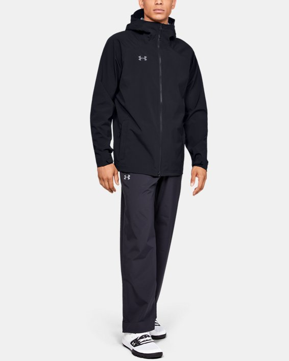 Men's UA Storm Rain Jacket, Black, pdpMainDesktop image number 1