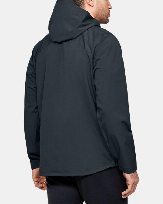 Men's UA Storm Rain Jacket, Gray, pdpMainDesktop image number 2