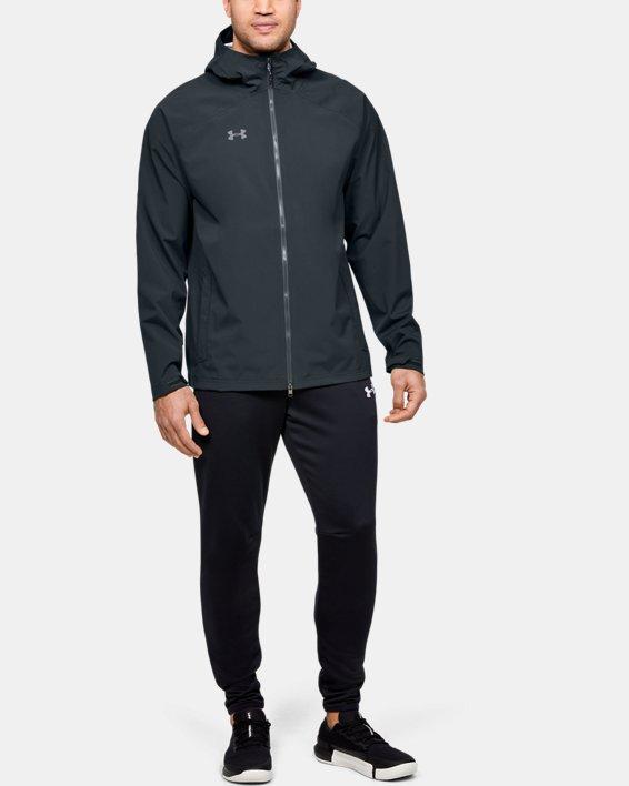 Men's UA Storm Rain Jacket, Gray, pdpMainDesktop image number 1