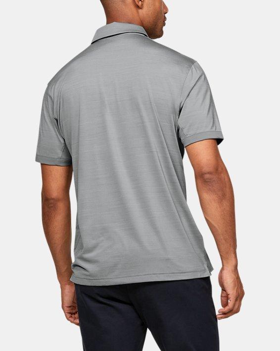 Men's UA Elevated Polo, Gray, pdpMainDesktop image number 2