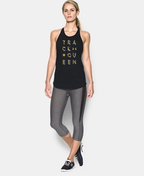 Track Queen Keyhole Tank  1 Color $29.99