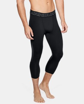 New Arrival Men's ColdGear® Reactor ¾ Leggings  2  Colors Available $64.99