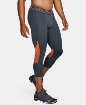 New Arrival Men's ColdGear® Reactor ¾ Leggings  2 Colors $64.99