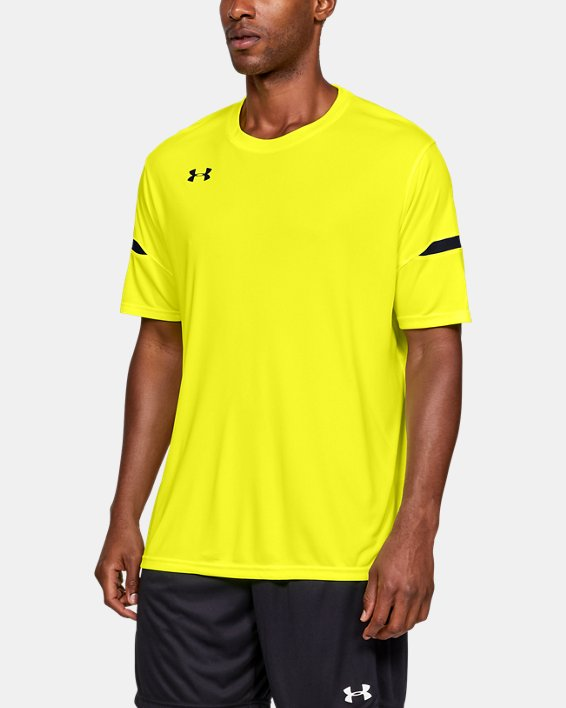 Men's UA Golazo 2.0 Jersey, Yellow, pdpMainDesktop image number 0