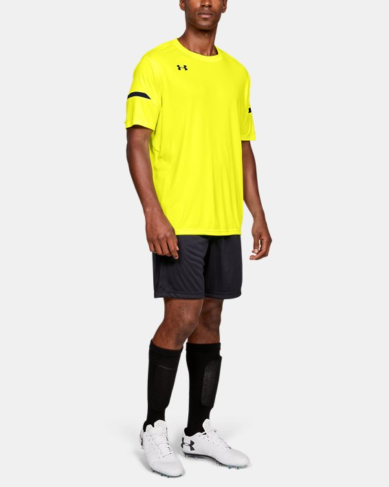 Men's UA Golazo 2.0 Jersey, Yellow, pdpMainDesktop image number 1