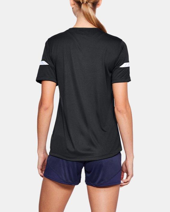 Women's UA Golazo 2.0 Jersey, Black, pdpMainDesktop image number 2