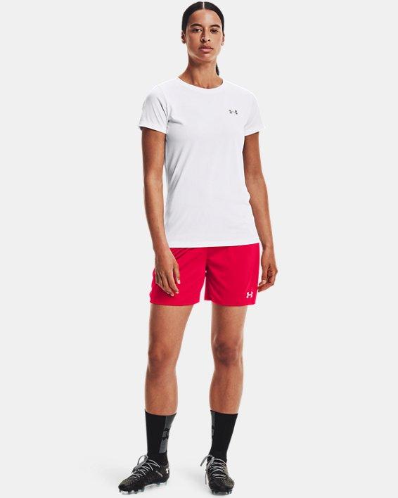 Women's UA Golazo 2.0 Shorts, Red, pdpMainDesktop image number 1
