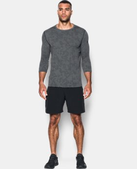 PRO PICK Men's UA Threadborne ¾ Utility T-Shirt LIMITED TIME OFFER 2 Colors $31.49