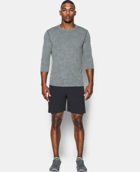 Best Seller Men's UA Threadborne ¾ Utility T-Shirt  3 Colors $44.99