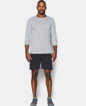 Men's UA Threadborne ¾ Utility T-Shirt  4 Colors $49.99