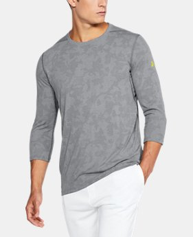 PRO PICK Men's UA Threadborne ¾ Utility T-Shirt LIMITED TIME OFFER 4 Colors $31.49