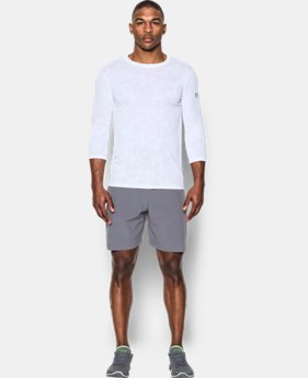PRO PICK Men's UA Threadborne ¾ Utility T-Shirt LIMITED TIME OFFER 1 Color $31.49