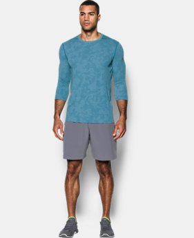 New Arrival  Men's UA Threadborne ¾ Utility T-Shirt  1 Color $49.99