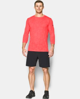 Best Seller Men's UA Threadborne ¾ Utility T-Shirt  10 Colors $44.99