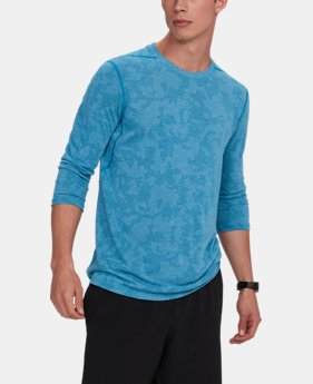 Best Seller  Men's UA Threadborne ¾ Utility T-Shirt  4  Colors Available $49.99
