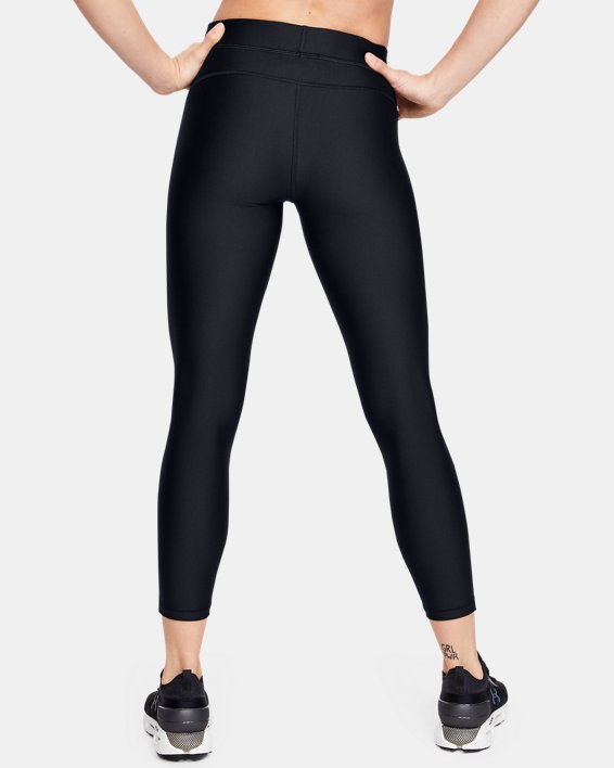 Women's HeatGear® Armour Ankle Crop, Black, pdpMainDesktop image number 2