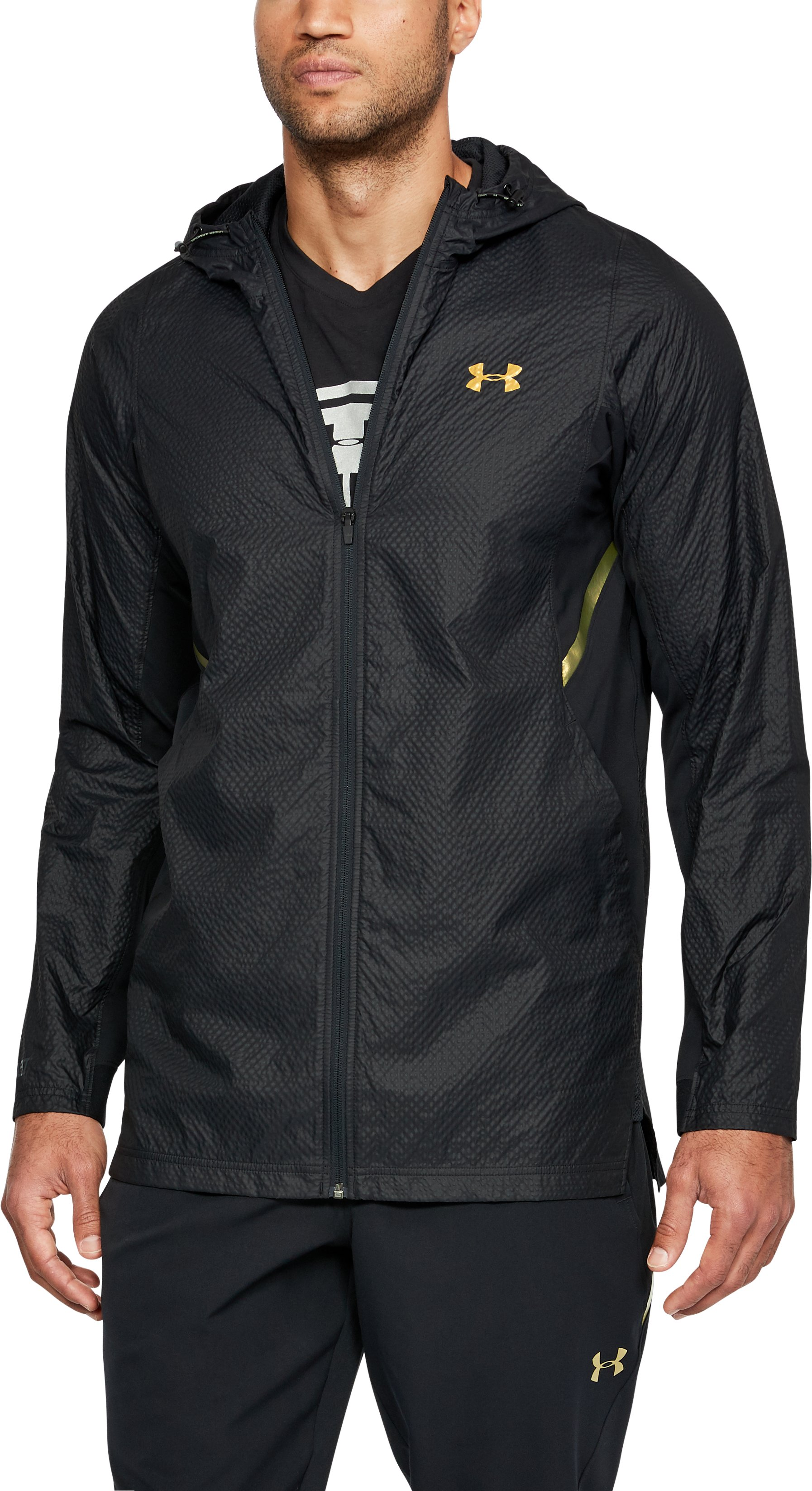 Men's UA Select Full Zip Jacket, Black