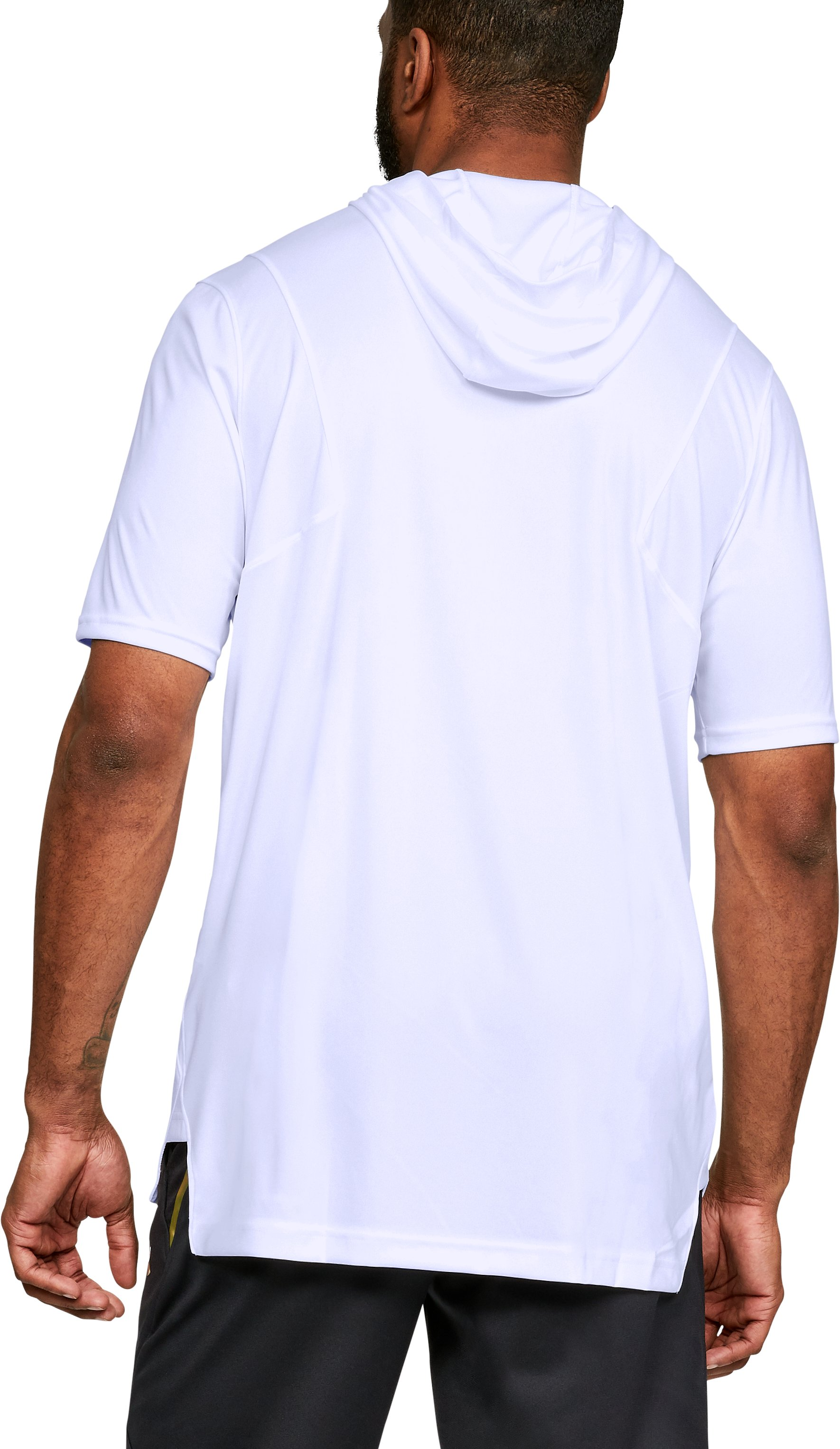 Men's UA Select ½ Sleeve Shooter, White,
