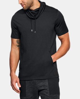 Men's UA Pursuit Funnel Neck Short Sleeve  3 Colors $55