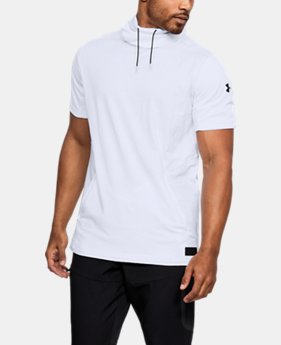 New Arrival Men's UA Pursuit Funnel Neck Short Sleeve  1 Color $55