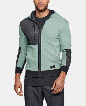 Men's UA Pursuit Full Zip Hoodie  1  Color Available $90