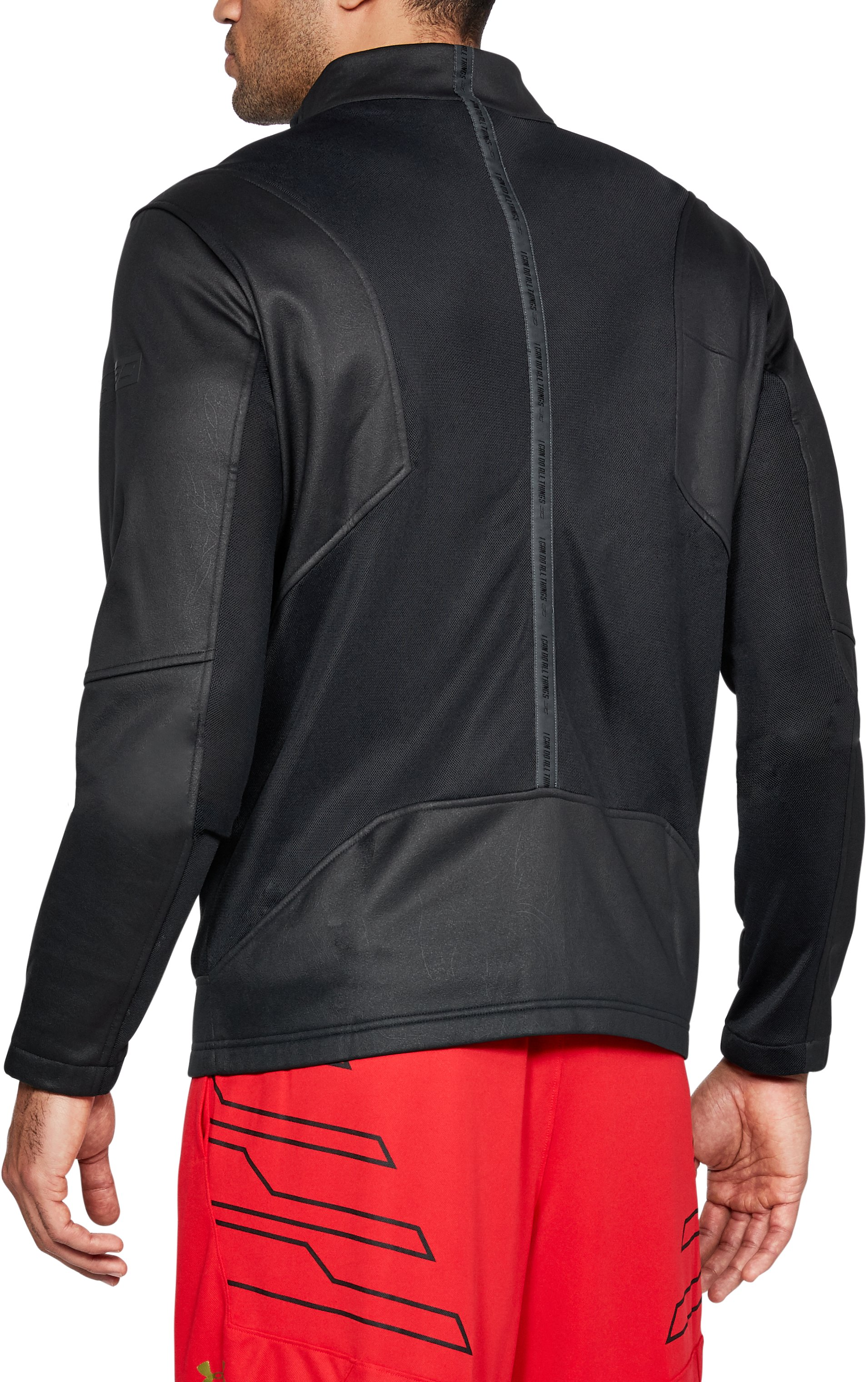 Men's SC30 Elevated Warm Up Jacket, Black ,