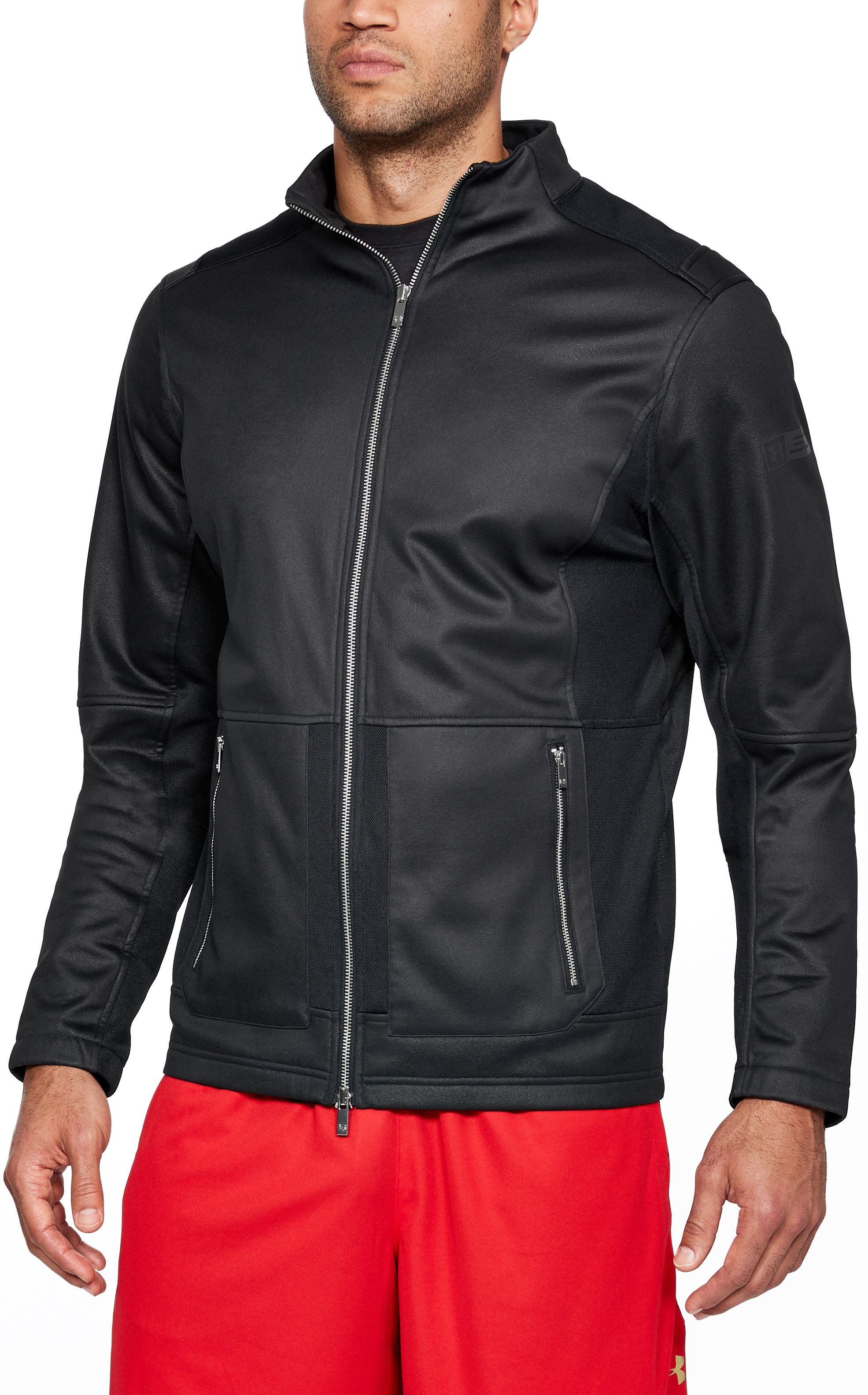 Men's SC30 Elevated Warm Up Jacket, Black