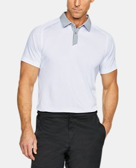 Men's UA Threadborne Polo  1  Color Available $70