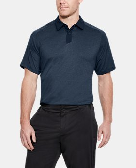 Men's UA Threadborne Polo FREE U.S. SHIPPING 7  Colors Available $70