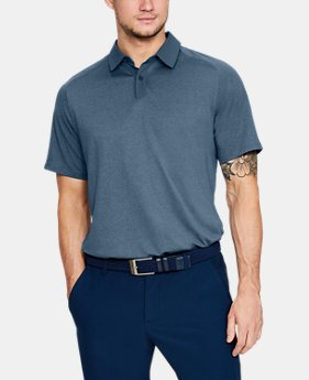 Men's UA Threadborne Polo  2  Colors Available $52.5