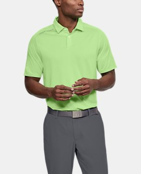 Men's UA Threadborne Polo FREE U.S. SHIPPING 1  Color Available $52.5