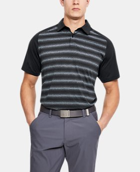 Men's UA Threadborne Boundless Polo  1 Color $75