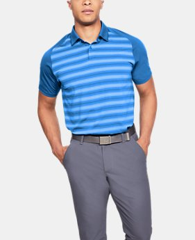 Men's UA Threadborne Boundless Polo  1  Color Available $75