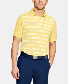 New to Outlet Men's UA Threadborne Boundless Polo  1  Color Available $45 to $56.25