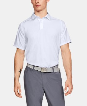 New Arrival Men's UA Threadborne Pique Polo  2 Colors $75