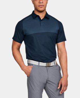 New Arrival Men's UA Threadborne Pique Polo  3 Colors $75