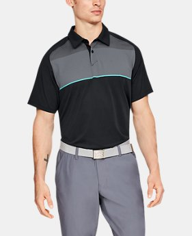 80400f9761 Men's Black Outlet Golf Polo Shirts | Under Armour US