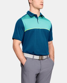 Men's UA Threadborne Infinite Polo LIMITED TIME: FREE SHIPPING 2  Colors Available $90