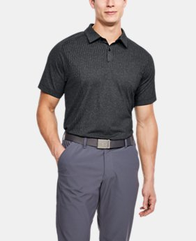 Men's UA Threadborne Outer Glow Polo  1  Color $85